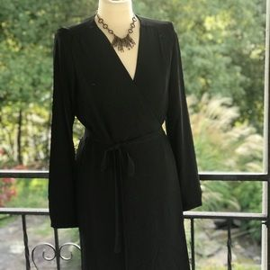 Mossimo Dutti black wrap Dress